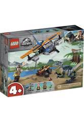 Lego Jurassic World Velociraptor: Missione di Salvataggio nel Biplano 75942