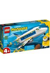 Lego Minions Minion Pilot en pratique 75547