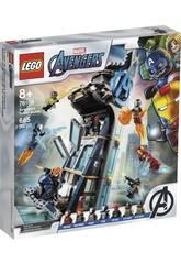 Lego Súper Heróis Batalha na Torre dos Vingadores 76166