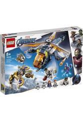 Lego Super-heróis Vingadores Resgate no Helicóptero de Hulk 76144
