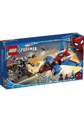 Lego Super Heroes Jet Arácnido VS. Armadura Robótica de Venom 76150