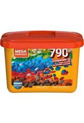 Mega Construx Builders Orange Würfel 790 Stücke Mattel GJD24