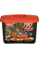 Mega Construx Builders Cubo Nero 790 Pezzi Mattel GJD26