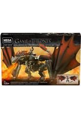 Game of Thrones Mega Construx Daenerys et Drogon Mattel GKG97