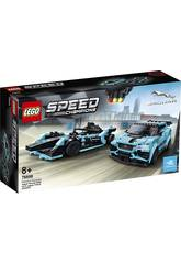 Lego Speed Champions Formula E Panasonic Jaguar Racing Gen2 Car and Jag 76898