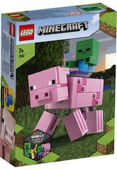 Lego Minecraft Big Fit Cerde con Bebé Zombi 21157