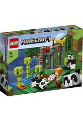 Lego Minecraft l'allevamento di Panda2 1158