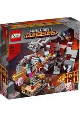 Lego Minecraft A Batalha pela Pedra Vermelha 21163