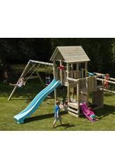 Parque Infantil Penthouse XL con Columpio Doble Masgames MA821201