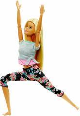 Barbie Movimentos Sem Limites Loira Mattel FTG81