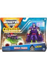 Monster Jam Creatures 1:64 Diecast mit Figur von Bizak 6192 5879