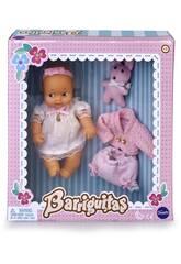Barriguitas Set de Bébé avec Vêtements Roses Famosa 700015698