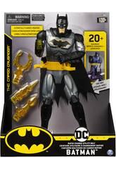 Batman Figura 30 cm. con Cinghia Multiuso a Cambio Rapido Bizak 6192 7809