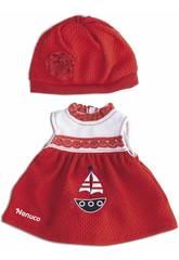 Nenuco Ropita Casual 35 cm. Vestido Rojo Famosa 700013822