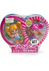 Pinypon Best Friends Capelli Biondi e Rosa Famosa 70001557