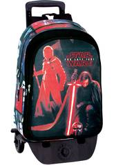 Day Pack con Carro Star Wars The Last Jedi Montichelvo 55803