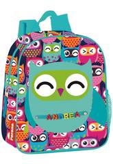 Mochila Creche Owl Montichelvo 57496