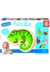 Baby Puzzle Animales Tropicales Educa 18587