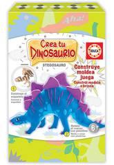 Crie e Molde o seu Stegosaurio Educa 18353