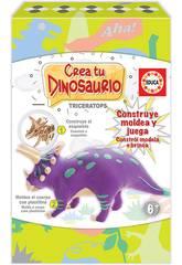 Créez et Modelez Votre Tricératops Educa 18363
