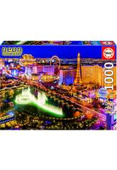 Puzzle 1000 Las Vegas Neon Educa 16761