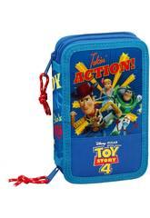 Plumier Duplo Pequeno 28 Peças Toy Story 4 Safta 411931854