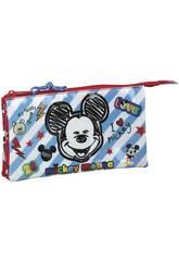 Portatodo Triple Mickey Mouse Safta 811914744