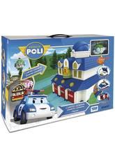 Robocar Poli Quartier Generale con Figura Toy Partner 83156