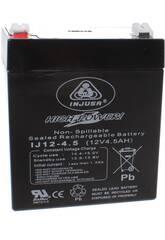 Batterie Rechargeable 12V. 4.5 AH. Injusa 999