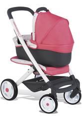 Carro de Bonecas Bebé Confort Cor-de-rosa 3 em 1 Smoby 253199