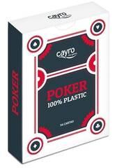 Baraja Cartas Poker 100% Plástico Cayro 5505
