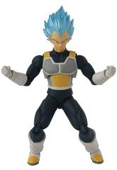 Dragon Ball Super Evolve Figur von Vegeta Super Saiyan Gott von Bandai 36272