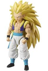 Dragon Ball Super Figura Deluxe Super Saiyan 3 Gotenks Bandai 36189