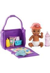 Barbie Skipper Canguro di Bebè Ora di Cambiare il Pannolino Mattel GHV86