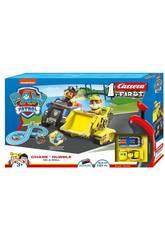 Paw Patrol Circuito Carreira First Chase e Rubble Carrera 63034