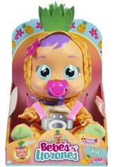 Bébés Pleureurs Tutti Frutti Pia Ananas IMC Toys 93829