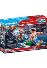 Playmobil Patrulla Policía Callejera 70461