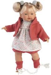 Bambola Aitana Piagnucolosa 33 cm. Llorens 33124