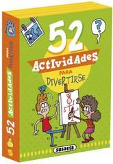 Jeux de cartes Activités 52 Activités pour s'amuser Susaeta S3440003