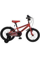 Bicicleta de 16 XT16 Roja Umit 1670-1