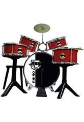 Batería Golden Red Drums Reig 717