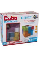 Cube Magique 7 Pièces Magnétique 6x6 cm.