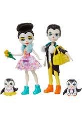 Enchantimals Penguin Ice Skaters Mattel GJX49