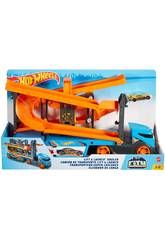 Hot Wheels Megacamión Lanzador de Altura Mattel GNM62