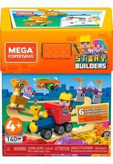 Mega Construx Story Builders Caixa 140 Peças Mattel GRG53