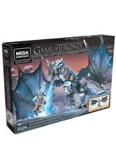 Juego de Tronos Mega Construx Got Jon Snow Contra Viserion Mattel GMN74