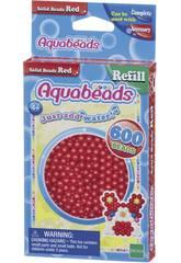 Aquabeads Pack Contas Sólidos Vermelho Epoch Para Imaginar 32508