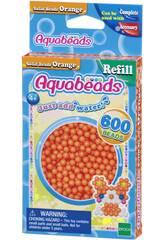 Aquabeads Pack Contas Sólidos Laranja Epoch Para Imaginar 32518