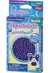 Aquabeads Pack Perles Solides Violet Epoch Para Imaginar 32578