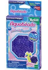 Aquabeads Pack Perles Bijou Violet Epoch Para Imaginar 32718